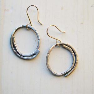 handmade sterling earrings